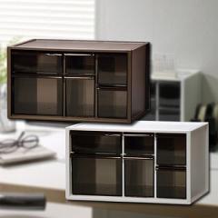 卓上収納ボックス アイケース L ( 小物入れ 収納ケース 小物収納 )