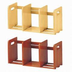ブックスタンド 木製 スライド式 ( ブックエンド アンティーク おしゃれ 本立て )