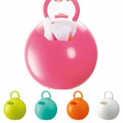 ティッシュ・ロールペーパーホルダー ポイッとボール ( ティッシュケース ボックス カバー トイレットペーパー 収納  )