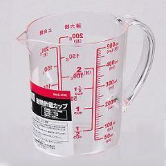 計量カップ メジャーカップ 500ml 耐熱 大きい目盛