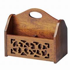 リモコン収納ラック オーキッド 木製 ( 卓上収納 )