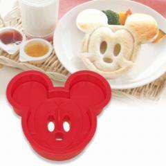 キャラクター 食パン抜き型 ミッキーマウス ( 簡単キャラ弁 お弁当グッズ 子供 )