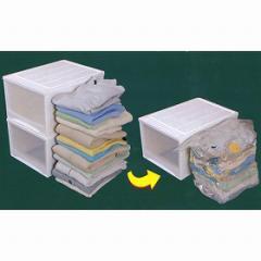 衣類圧縮袋 ぴったり収納 クローゼット衣装ケース用( 収納 )