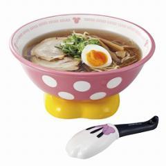 ラーメン鉢 れんげ ラーメンセット 食器 ミニーマウス