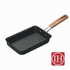 フライパン 玉子焼 鉄製 ネオキャスチール IH対応 ( 玉子焼き器 )
