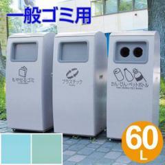 屋外用ゴミ箱 60L アーバンポケット 灰皿なし 一般ゴミ用 ( 業務用 テラモト )