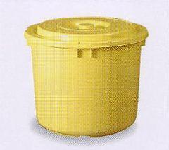 漬物容器40型 (押しフタ付 漬物樽 プラスチック ぬか漬け )