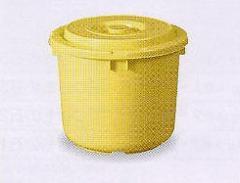 漬物容器15型 (押しフタ付 漬物樽 プラスチック ぬか漬け )