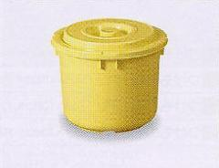 漬物容器10型 (押しフタ付 漬物樽 プラスチック ぬか漬け )