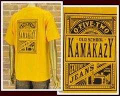 カマカージジーンズ G.CUE氏プロデュースブランド Tシャツ メンズ KAMAKAZY JEANS 【PLAYING】