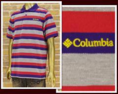 コロンビア ピケ ボーダー ポロシャツ メンズ COLUMBIA 【PM5853-540】