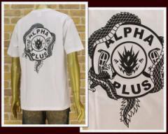 アンドサンズ LIMITED ALPHA PLUS アルファプラスとのコラボ Tシャツ メンズ ANDSUNS 【ALPHA LIMITED】