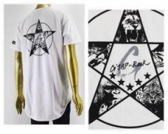 アルフアプラス GJAP-ROCK(ジ ジャップ ロック) とのコラボ メッシュ Tシャツ S/S メンズ ALPHA PLUS 【GJAP-ROCKロングタケ】
