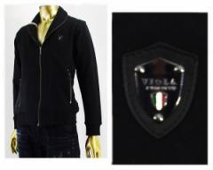 ヴィオラルモーレ ショールカラー ジップ ジャケット メンズ VIOLA RUMORE 【A61122-3ショールカラー】