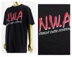 エヌダブルエー Straight outa compton(ストレイト・アウタ・コンプトン) Tシャツ メンズ N.W.A NWA 【NWA01 NWA】