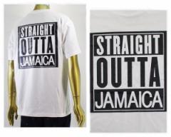 アルフアプラス STRAIGHT OUTTA JAMAICA Tシャツ S/S メンズ ALPHA PLUS 【ST O JAMAICA T】