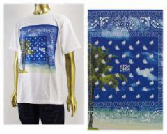 クライムデニム ビックサイズ対応 411掲載ブランド DS455 Kayzabro DJ PMX着用ブランド Tシャツ S/S メンズ KRHYME DENIM 【K17S-11バ