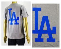 マジェスティック Los Angeles Dodgers LA ドジャーズ Tシャツ S/S メンズ MAJESTIC 【MM01LDG178GYR3】