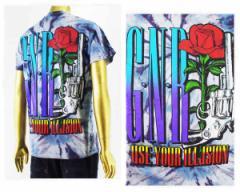 オフィシャル ライセンス GUNS N ROSES(ガンズ・アンド・ローゼズ) バンド ロック タイダイ Tシャツ メンズ OFFICIAL LICENSE 【1216212