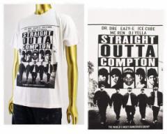 エヌダブルエー Straight outa compton(ストレイト・アウタ・コンプトン) Tシャツ メンズ N.W.A NWA 【34591 TOP1】