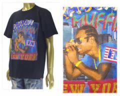 ミューラル イラストレーターMURASAKI/ムラサキ ブランド NYからジャマイカに影響与えたアーティスト 80, 90年代のラップTシャツ デザイ