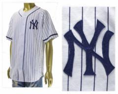 マジェスティック New York Yankees NY ヤンキーズ ベースボールシャツ メンズ MAJESTIC 【MM21-NYK-0021】