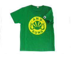アンドサンズ MAIN LOGO TEE 子供 キッズサイズ Tシャツ メンズ ANDSUNS 【AS172501 キッズサイス】