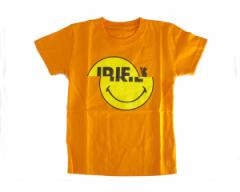 アイリーライフ FIRE BALLのJUN 4 SHOTがディレクション スマイリーをスライドさせてギミックを効かせたアイテム キッズサイズ Tシャツ