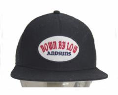 アンドサンズ DBL TRACKER ワッペンを施したメッシュ キャップ メンズ ANDSUNS 【AS174709 DBL T】