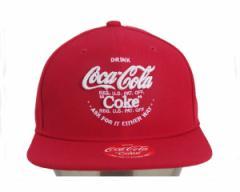 コカコーラ COKE 立体刺繍 スナップバック ベースボール キャップ メンズ COCA COLA 【COK-CP06 コーク】