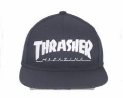 スラッシャー 帽子 マグロゴ 刺繍 定番ストリートデザインが幅広くマッチング スナップバック キャップ メンズ THRASHER 【17TH-C04 1 MA