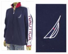 ノーティカ Full-Zip Graphic Fleece フルジップ ジャージタイプ ジャケット メンズ NAUTICA 【K73594 フリース】