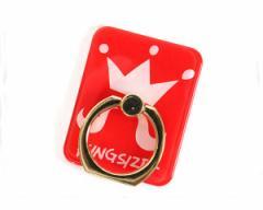 キングサイズ NG HEAD率いる『KINGSIZE草野球団』KINGSIZEのメインロゴデザインを落とし込んだスマホリング メンズ KINGSIZE 【KSSS18-G0