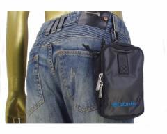 コロンビア ナイオベ? スマートフォン 収納可能なクッション性の高いトリコット生地ポケット 背面にナスカンを装備 多機能ポーチ メンズ