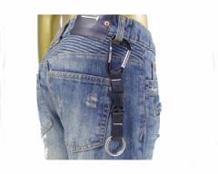 コロンビア アウトドアテイスト ベルトループやバッグに合わせてアクセサリーとしても最適 ウェッサー ボールド キーリング メンズ COLUM