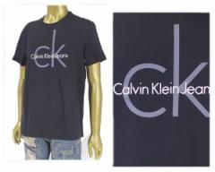 カルバンクライン CLASSIC CK LOGO クラシック クルーネック ロゴT Tシャツ メンズ CALVIN KLEIN 【41AK945 CLASSIC】