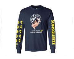 アンドサンズ 自分が今できることに全力を尽くし他のことはあまり深刻に考えるなといったメッセージ Tシャツ メンズ ANDSUNS 【AS182603