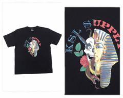 ケーエスエル サプライ 411掲載 ラッパー、KOWICHIがディレクション Tシャツ メンズ KSL SUPPLY 【L19S06 ROCKスカル】