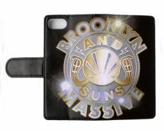 アンドサンズ BLING BLING BLING IPHONE BOOK ブック 手帳型 iPhone (アイホン) iP7 PLUS 携帯ケース メンズ ANDSUNS 【AS182725 iP 7PLU