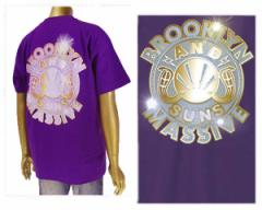 アンドサンズ BLING BLING TEE Bling-BlingのANDSUNS LOGO Tシャツ メンズ ANDSUNS 【AS182511 PLATIN】