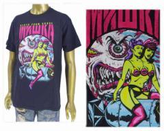 ミシカ DEATH FROM ABOVE TEE ホラー映画からインスピレーション Tシャツ メンズ MISHKA 【SP181308 ホラー】