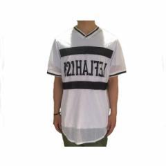 レフラー WANIMA(ワニマ) RAY(レイ) 着用ブランド メッシュ フットボールシャツ メンズ LEFLAH 【MESH FOOTBALL】