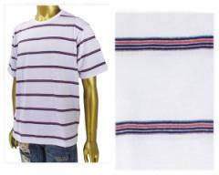 トラップユー 先染めレトロボーダー Tシャツ メンズ TRAP/U 【18-40636 06ボータ】