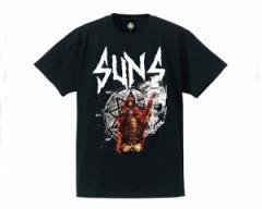アンドサンズ PSYCHOSLAYER TEE スレイヤーとスリップノットの2つのメタルバンドのイメージ Tシャツ メンズ ANDSUNS 【AS184502 PSYCHO】