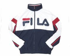 フィラ ストリート スポーツMIX ZIPアップナイロンジャケット トラックジャケット ウィンドブレーカー メンズ FILA 【FM9415 02WIND】