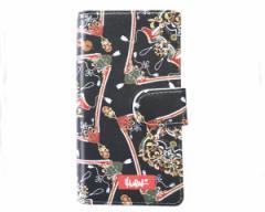 ミューラル イラストレーターMURASAKI 手帳型 ブック iPhone(アイホン) 6PLUS 7PLUS 8PLUS 携帯ケース メンズ MURAL 【18MU-AW-06 P678】