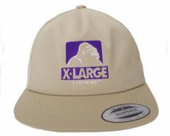 エクストララージ ワーク、ヒップホップ、スケートボードの要素を取り入れたストリートウェアを提案 CUTOUT OG HAT キャップ メンズ X-LA