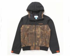 コロンビア 水を弾く 撥水加工 袖口は調節可能な面ファスナー付 フリース素材の裏地で保温効果 ロマビスタ ハンティング 中綿ジャケット