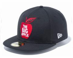 ニューエラ 59FIFTY ニューヨーク市のニックネーム The Big Appleをモチーフ キャップ メンズ NEWERA 【11781722 アップル】