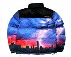ドリームチーム DJ RYOW プロデュース DT LOGO Puffy Jacket 保温性バツグン たっぷり首元まで 中綿ジャケット メンズ DREAM TEAM 【DT-3
